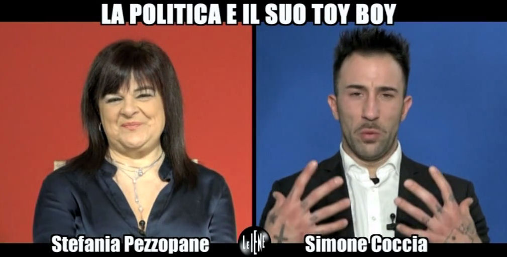 Le Iene: intervista doppia a Stefania Pezzopane e Simone Coccia