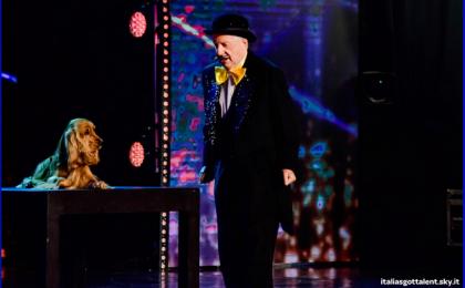 Gianfranco D'Angelo a Italia's got Talent 2015: un salto nei ricordi con il comico di Drive in