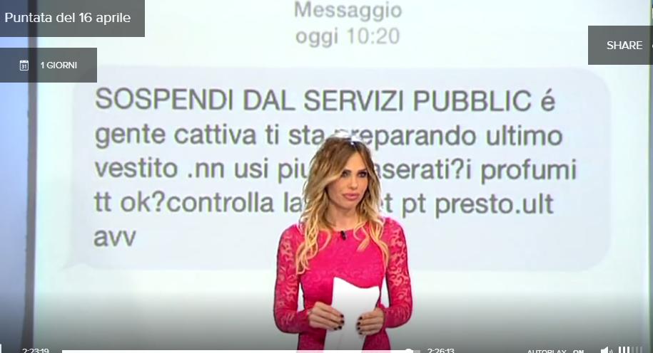 Le Iene, minaccia a Matteo Viviani: Ilary Blasi legge il messaggio in diretta