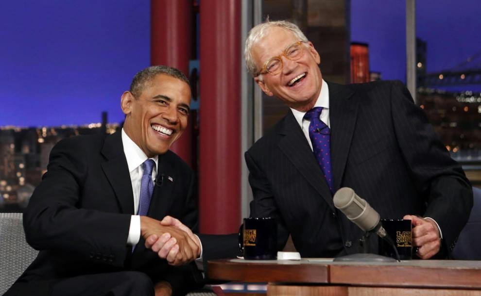 Barack Obama al David Letterman Show: l'omaggio al conduttore [Video]