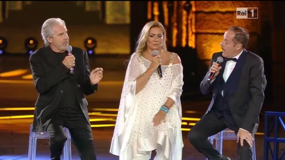 Romina Power, Tullio Solenghi e Massimo Lopez