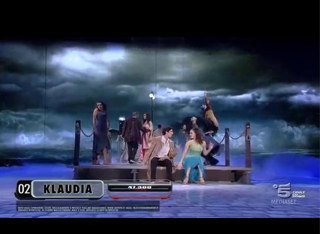 Klaudia sulle note di Ma che freddo fa