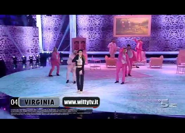 Un'altra esibizione di Virginia