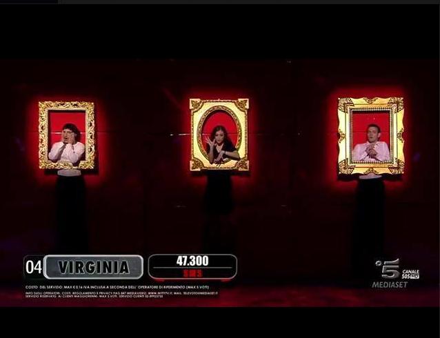 Virginia in sfida con la band