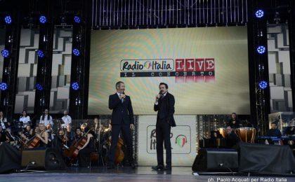 Concerto Radio Italia 2017 a Milano e Palermo: cantanti e ospiti sul palco