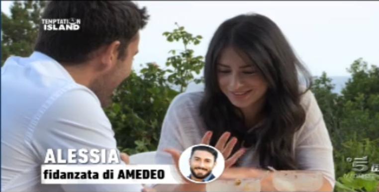 Alessia esce di nuovo con Alessandro