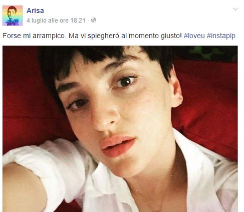 Arisa Monte Bianco