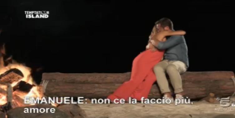 Il confronto finale tra Alessandra ed Emanuele