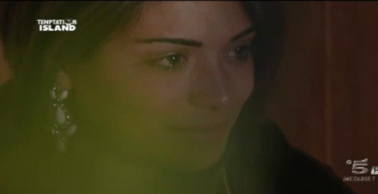 Fabiola piange per Emanuele