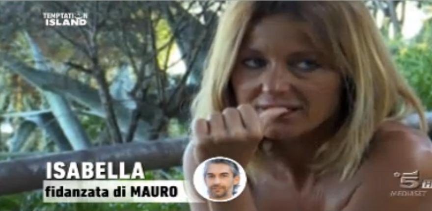 Isabella distrutta per Mauro