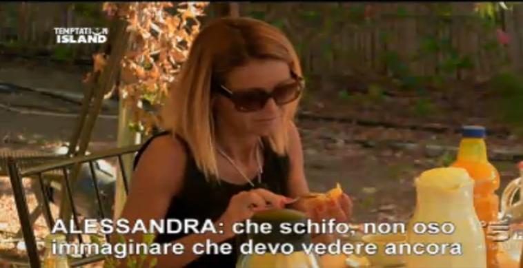 Le parole di Alessandra su Emanuele