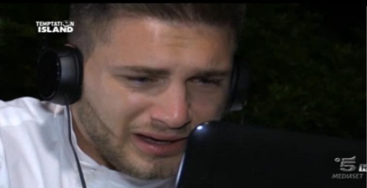 Salvatore piange per Teresa