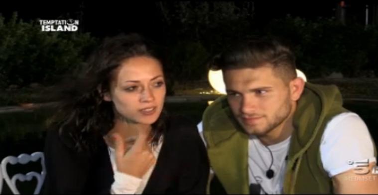 Teresa e Salvatore lasciano Temptation Island