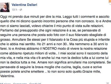 Valentina Dallari fb