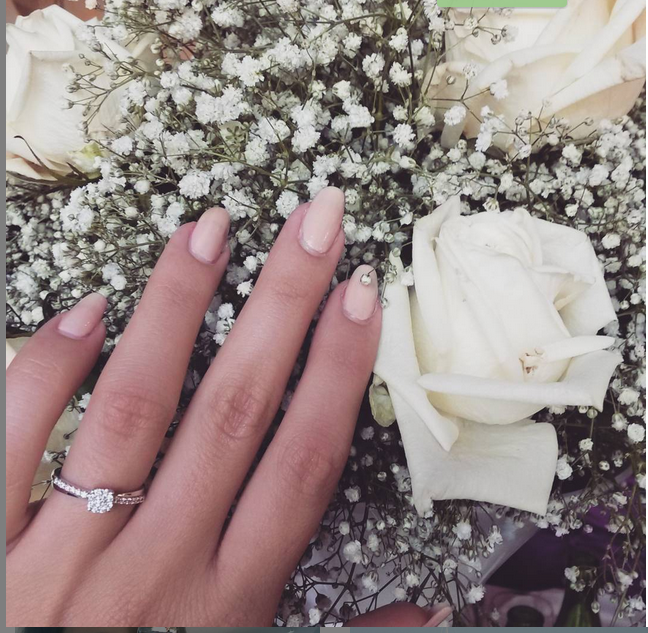 anello di fidanzamento sharon