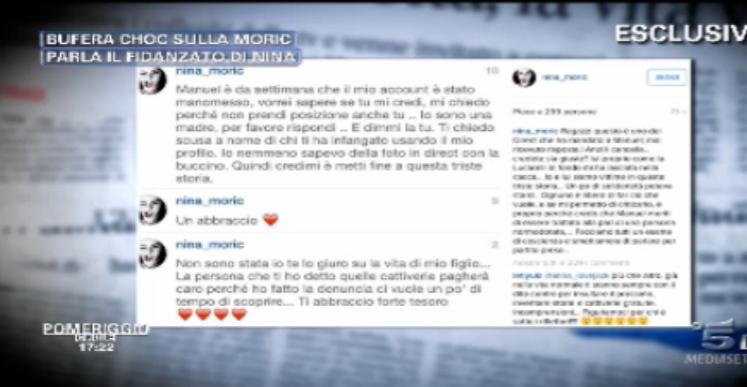 Nina Moric smentisce tutto, polemica disabile