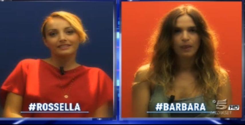 Barbara e Rossella concorrenti