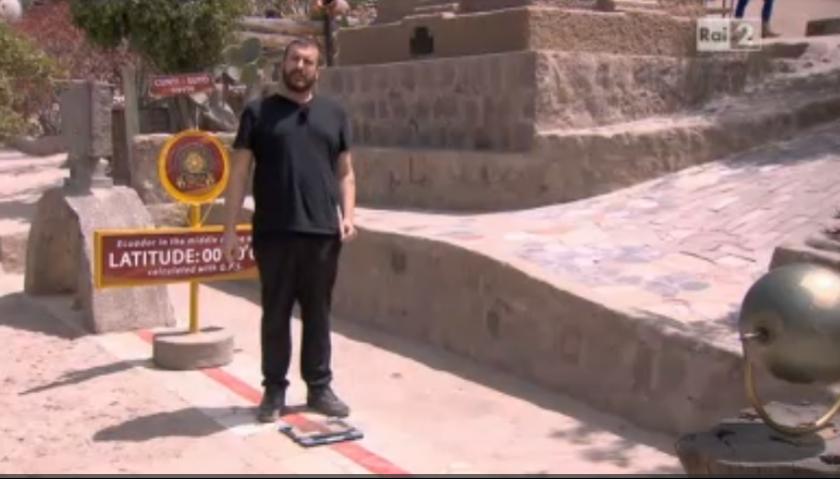 Costantino Della Gherardesca pesa di meno 'dove passa l'equatore'