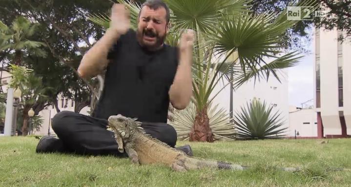 Costantino e l'iguana