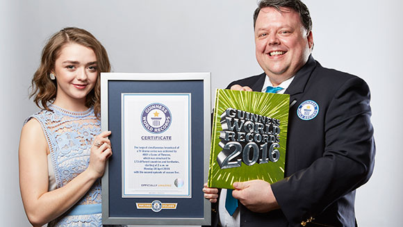 Game of Thrones Guinness World Record