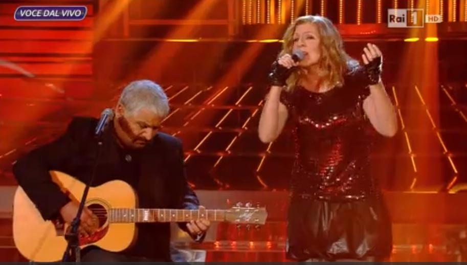 Il duetto Pino Daniele   Irene Grandi a Tale e Quale Show