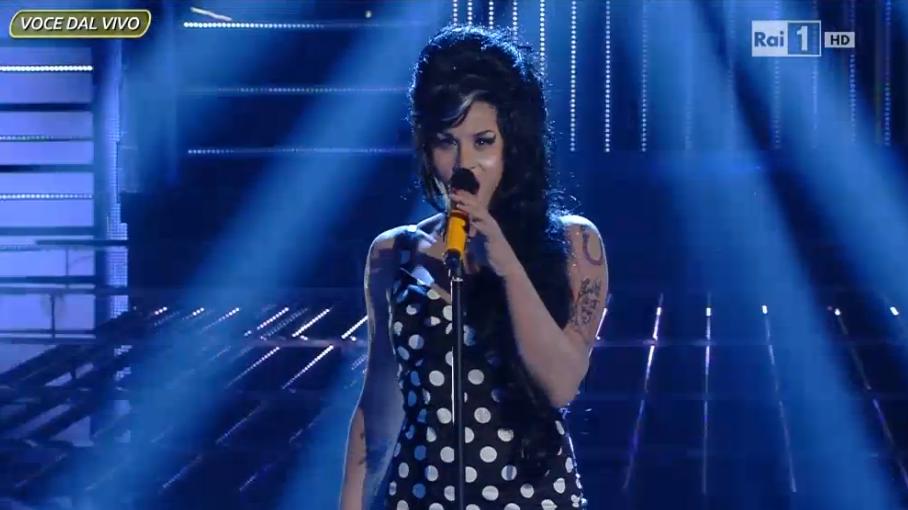 Il ricordo di Amy Winehouse a Tale e Quale Show