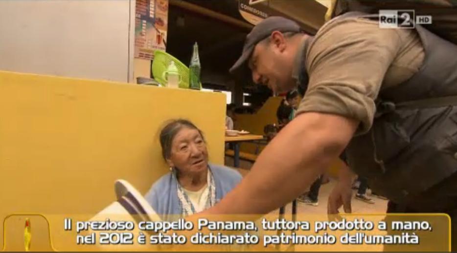 Le coppie e il cappello Panama
