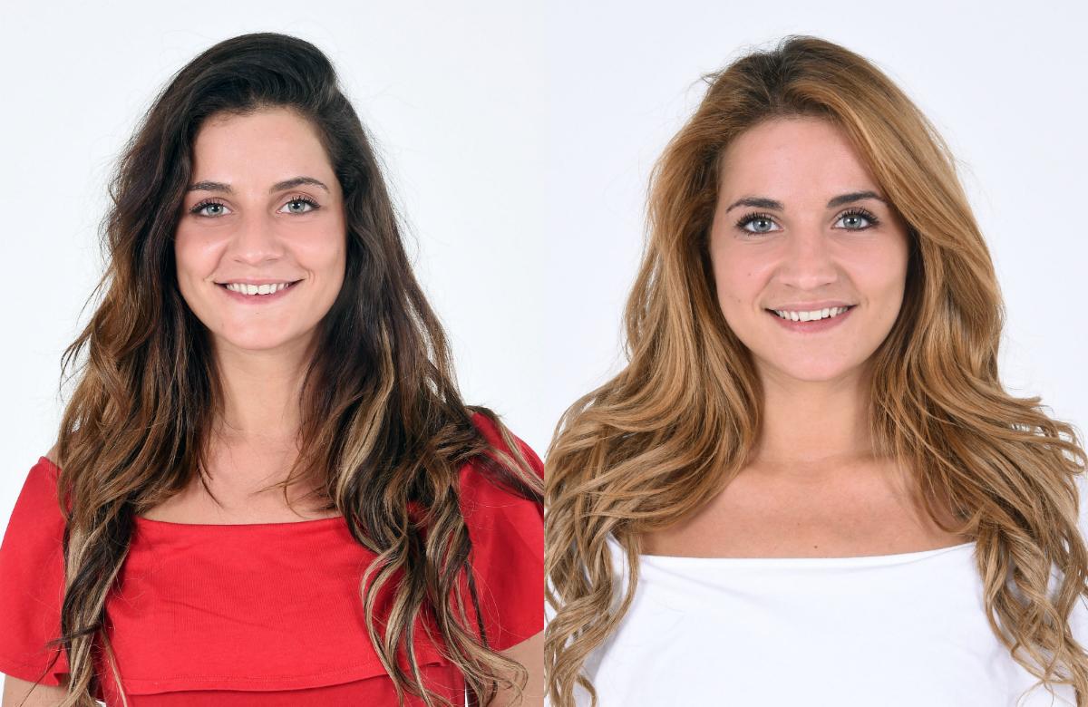 Le gemelle Jessica e Lidia Vella