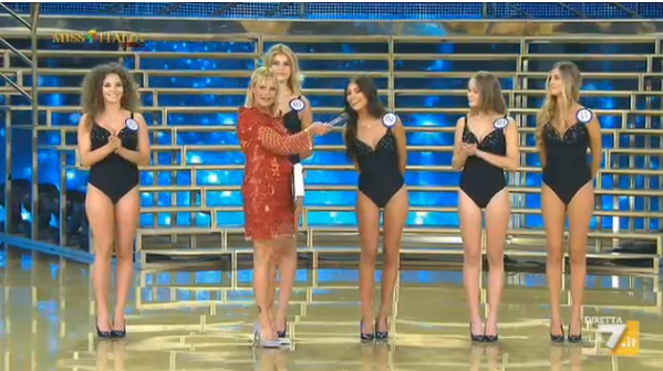 Le prime eliminate di Miss Italia 2015