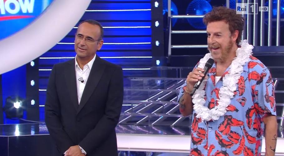 Massimo Lopez è Jovanotti a Tale e Quale Show