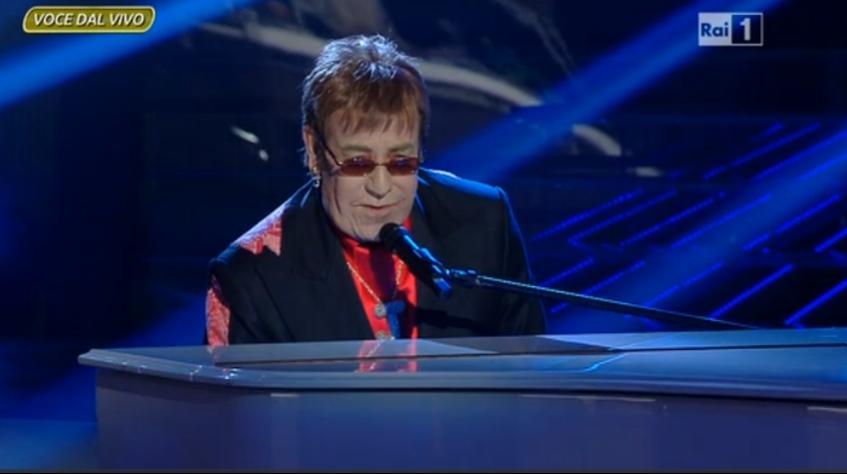 Massimo Lopez Elton John