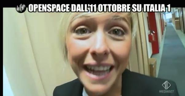 Nadia Toffa Open Space