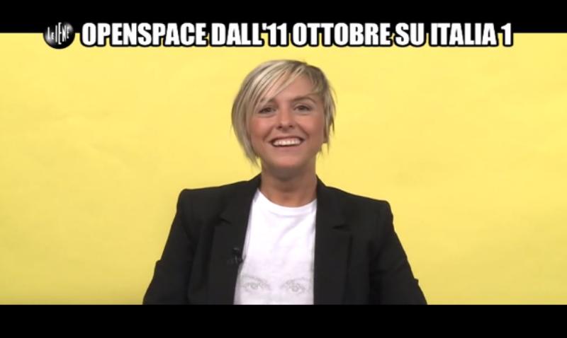 Open space, Nadia Toffa conduce il nuovo programma di Italia 1: prima puntata l'11 ottobre