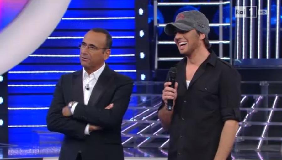 Savino Zaba imita Enrique Iglesias