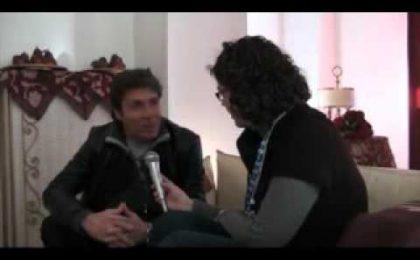 Sanremo 2011, Luca Barbarossa: video intervista esclusiva
