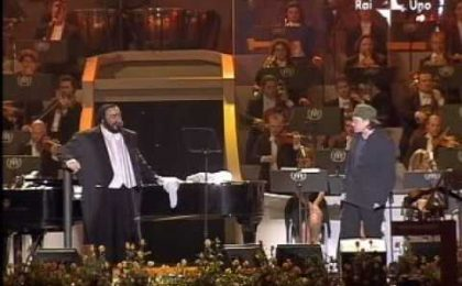 RaiDue: Pavarotti, La Voce degli Angeli apre il 2010