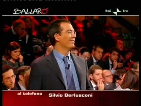 Ballarò, la telefonata a sorpresa di Berlusconi (video)