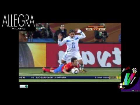 Auditel 21 giugno 2010: ancora in vetta i Mondiali 2010 con Spagna-Honduras