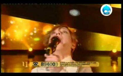 Loredana Errore a Sanremo con Bastardo di Anna Tatangelo (video)