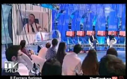 Tv Talk riparte da Santoro in esclusiva e Ferrara che 'sbraca'
