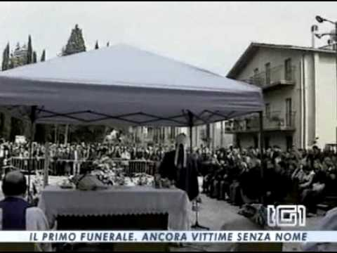 Terremoto Abruzzo: diretta funerali su RaiUno e Canale 5