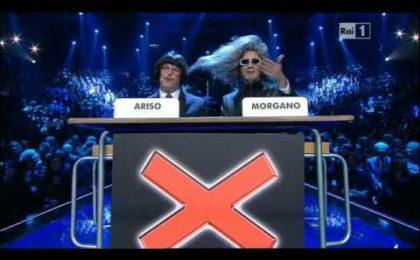Morgano e Ariso con Biagio Antonacci a Il Più Grande Spettacolo dopo il Weekend (video)