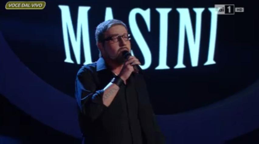 Alessandro Greco imita Marco Masini