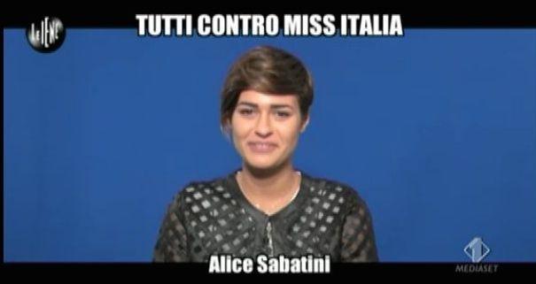 Alice Sabatini Le Iene