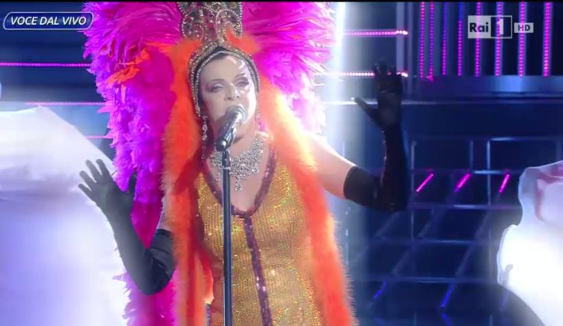 Annie Lennox Elena Di Cioccio Tale e Quale Show