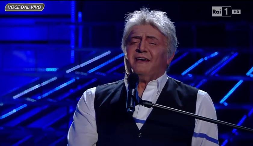 Claudio Baglioni imitato a Tale e Quale Show 5 da Max Giusti