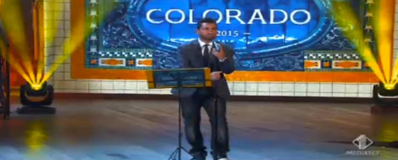 Colorado 2015 prima puntata cantautore