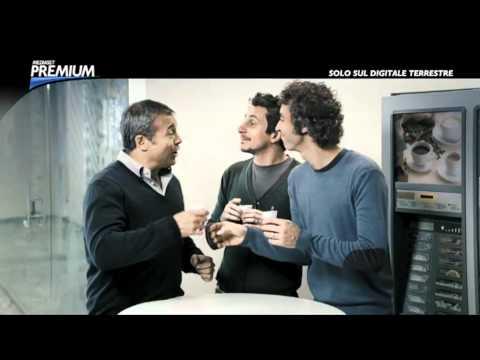 Spot: Claudio Amendola, Luca e Paolo per Mediaset Premium (video)