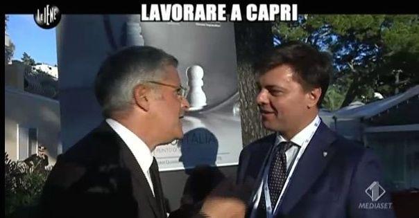 Enrico Lucci a Capri