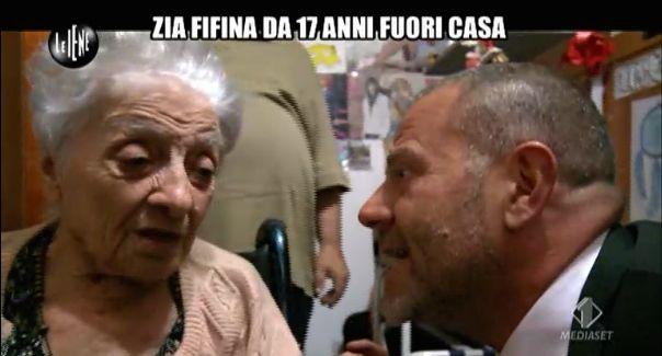 Giulio Golia e Zia Fifina